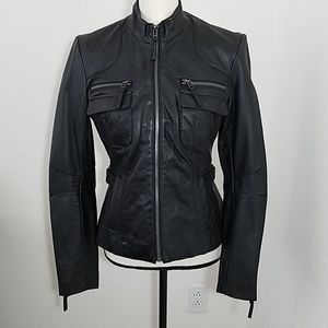 New York & Company Moto Jacket